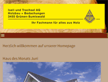 Tablet Preview of iseliundtrachsel.ch
